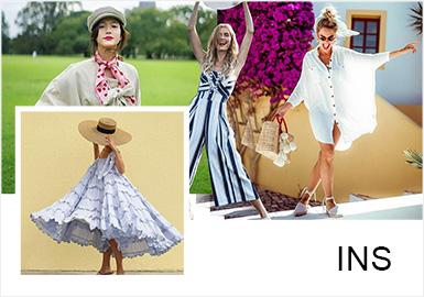 INS時尚博主大盤點:可鹽可甜的法式風情穿搭范本