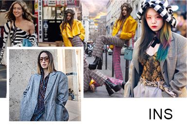 时尚摩登的搭配风格,展现不一样的高街新感受,最新时尚达人的穿搭风格?#24425;前?#32654;的MM的时尚风向标!