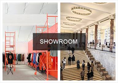 MODE、Ontimeshow、时堂专注于买手制体系下原创服装服饰品牌的贸易服务,致力于打造专业化、集约化订货平台,承担起SHOWROOM召集者、初创型品牌孵化器和海外品牌试水阵地等多重角色,共同成为上海时装周打造亚洲最大订货季的重要载体。越来越多的新锐设计师的加入,注入新的时尚元素,色彩、款式、细节等方面受到极大重视。设计点也更为突出本土国潮的风貌。