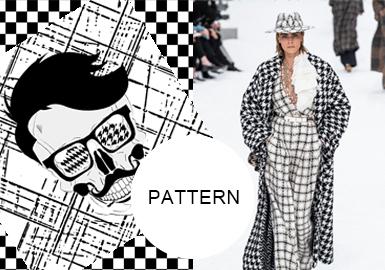 格纹碰撞新潮--女装图案趋势