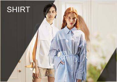 """春夏季,襯衫成為了衣柜中的必備單品,都說襯衫是衣櫥里的""""萬靈搭"""",不分年齡、性別、職業都能穿,但""""設計感""""是個逃不掉的關鍵詞。2019春夏設計師通過變換細節如領口、袖口,和新的廓形來打造各種襯衫LOOK風尚。"""