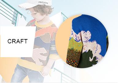 藝術感培養從一件毛衣開始--男童毛衫工藝趨勢