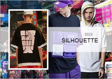 街潮百变--男装T恤廓形趋势