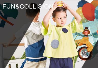 打造趣味舒適有品牌風格的童裝是當下設計師品牌推行的熱潮。發掘生活中細微之處,發散思維,探尋孩子們的童年世界;從色彩和圖案出發,細節和工藝并用,打破單一的造型,不斷發揮想象,給孩子們一個快樂的童年。