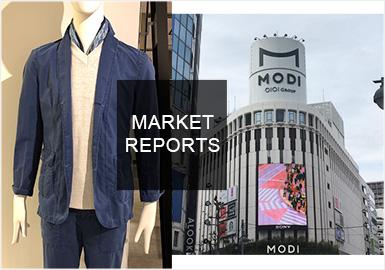 2019春夏日本男裝市場以日式休閑、潮酷街頭以及時尚機能風格為主,同時文字、格紋圖案元素和拼接、織帶以及拉鏈等輔料細節展現男士的穿衣魅力所在。