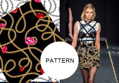 时尚锁链--女装图案趋势