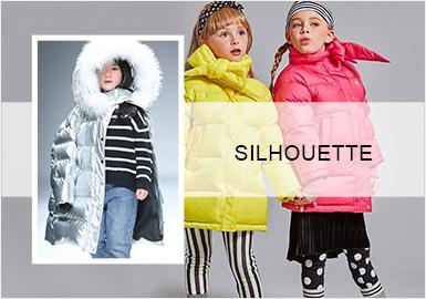 要温度更要时髦--女童羽绒服廓形趋势