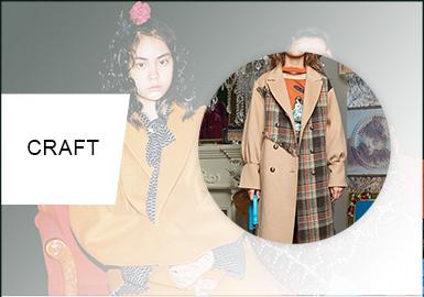 細節重塑--女童大衣細節工藝趨勢
