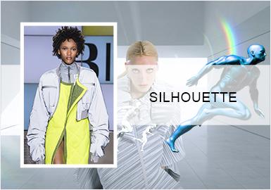 科技探险--女装运动外套廓形趋势