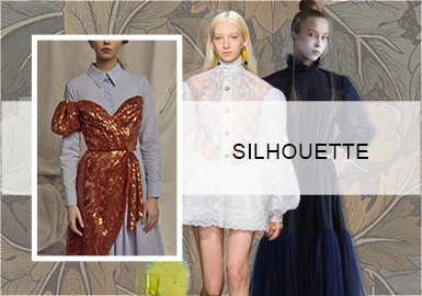 复古变革--女装连衣裙廓形趋势