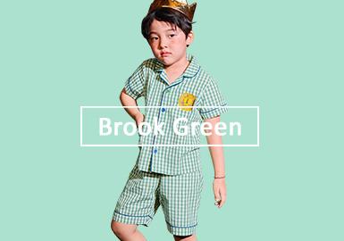 清新薄荷绿--男童色彩趋势预测