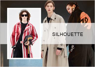 重塑時尚經典--男裝風衣廓形趨勢
