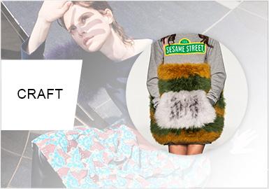 """拼接新""""奇""""点--女装针织工艺趋势"""