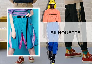 """运动潮""""裤""""--女装裤子廓形趋势"""