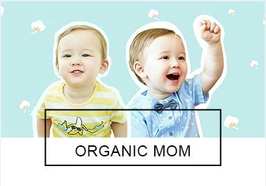 Organic mom一直都是韩国比较有知名度的家居服品牌,为了迎?#31995;?#19979;市场,拥有众多忠实粉丝的Organic mom?#27426;?#24320;发新的领域,在本季?#21512;?#23601;涉及?#25509;?#24188;童的外着服饰。?#26377;?#21697;牌一贯的轻松自的产品风格,舒适简约廓形和?#28909;ね及?#30340;组合是?#21512;?#30340;一大亮点。