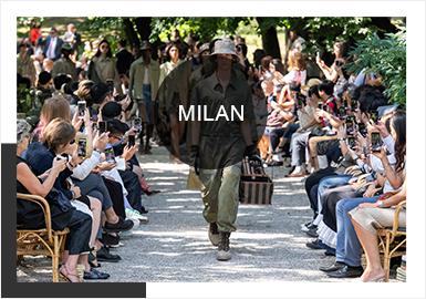 """意大利米兰时装周一直被认为是世界时装设计和消费的""""晴雨表""""。这次的米兰时装周上,绝大多数品牌都在或多或少的借助空间环境去阐述新系列。环保理念也愈发成为趋势。以定制服装闻名的韩国街头服饰品牌 Youser新加入本届米兰男装周,日本新晋设计师品牌BED J.W.FORD,诠释时下男装的包罗万象。从色彩、元素点、风格等不同角度出发,体现米兰时装周的多样化,同时以更多的姿态彰显时尚的米兰。"""
