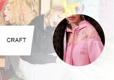 拼接艺术--女装家居服工艺趋势