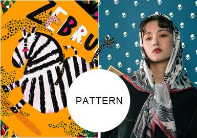 絲質CD--女裝圍巾圖案趨勢
