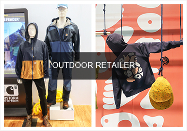 "Outdoor Retailer作为北美最大的户外运动用品展,今年6月在美国丹佛举行2020?#21512;?#23637;览会。此次展会将再次聚焦""多功能美学"",强调可回收、多用途、创新性与原创设计结合,打造产品循?#20998;?#30340;升级再造。激发更多的品牌、零售商、买手、设?#21078;?#23545;运动领域这一新兴市场的关注,促进了户外市场的多渠道发展。"