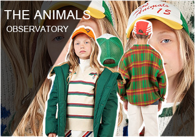 The Animals Observatory是来自西班牙巴塞罗那的时尚设计师品牌,由Laia Aguilar 和 Jan Andreu创立。以素雅的色彩以及时尚的款式,受到了客户们的青睐。19/20秋冬品牌以艺术绘画元素结合流行的色彩来打造更新更时尚的产品,其中毛织品类以及外套款式是其重点。