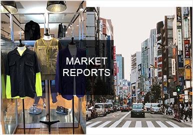 以獨特風格走在亞洲時尚最前線的日本男裝在本季以先鋒機能、時尚街潮、硬質化極簡以及日式休閑等風格為主,本季相片式局部印花得到回歸,手繪風印花增加了文藝感,而拼接設計依舊以重要的地位展示其工藝內在。