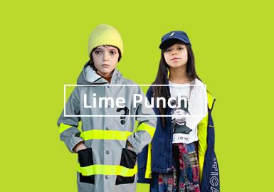 生物青檸綠--童裝單色彩趨勢