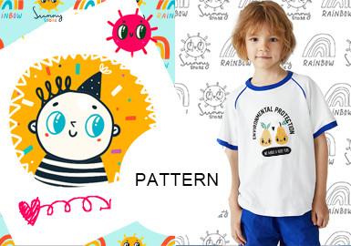 万能趣味小图标--?#34892;?#31461;童装图案趋势