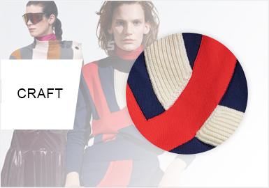 色接方程式--女装毛衫工艺趋势