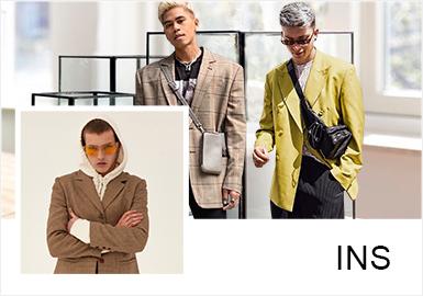 """近期的博主Anthony Urbano、Greg Ntore、Jesús Lafuente、Joel Mcloughlin、Jonathan Zegbe都运用西装这一单品与其他单品进行搭配,形成新的""""时尚商务风"""",可见他们的搭配功底之厉害。除了西装的搭配外,衬衫、风衣等单品也有一定的涉及,参考性足。配饰的搭配也成为不容忽视的一部分,有可能成为全身造型的点睛之笔。"""