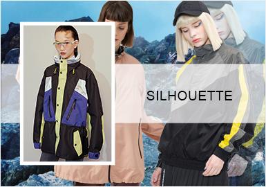 运动风尚--女装夹克廓形趋势