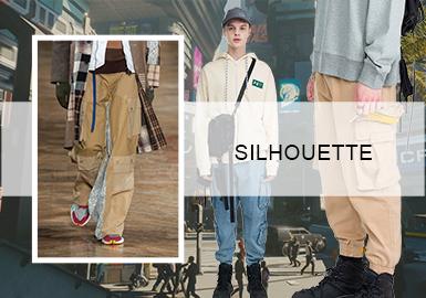 工装崛起--男装工装裤廓形趋势