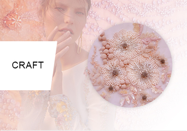 釘珠的華麗夢境--女裝工藝趨勢(婚紗篇)
