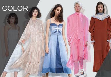 在女孩子的心中连衣裙是最重要的穿搭单品,尤其是夏季的到来作为最能展现女人魅力的单品非连衣裙莫属;无论是吊带款、衬衫款、度假款、独立设计师款它们拥有相似的色调,却穿出不一样的风格,因此千变万化的款式在相似的色调中照样是风格百变,让你永远有穿不完的连衣裙新款式。