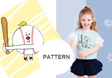 韩风趣味小插图--童装图案趋势