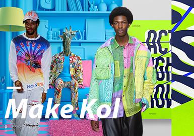 Make Kol--男裝主題色彩趨勢驗證