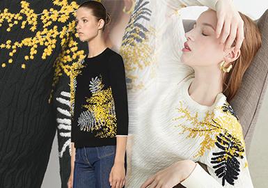 大牌效應是國內二、三線毛衫品牌在原有的大牌款式中借鑒核心元素,根據自身定位重新塑造時尚單品,在延續國際知名性服裝品牌商業社會價值的同時為國內市場帶來效益和影響。