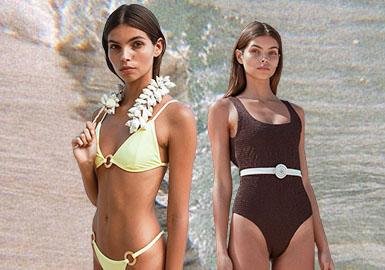 自由的品格--女装泳装廓形趋势