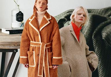 柔和质感--女装大衣面料趋势