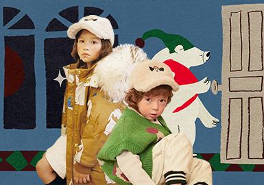 來自韓國品牌Limitedoudou是屬于偏小眾的設計師品牌。經常會推出聯名款,每一季都會與插畫師、藝術家聯名合作。在18/19秋冬系列中,Limitedoudou通過有故事的場景和幾何搭建圖案作為靈感來源,讓本季的款式更具藝術感。