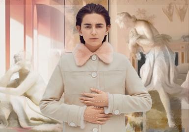 新古典主義--女裝皮草主題色彩趨勢