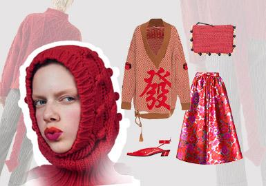 新年企劃--女裝毛衫組貨搭配
