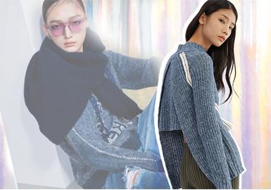"""PortsPURE是寶姿旗下年輕副線品牌,承襲PORTS 1961先鋒前衛的設計基因,在現代風格的演繹中融入高級審美趣味,經典單品中加入兼顧時尚感與功能性的巧思創意,詮釋都市人的時髦態度,成為當代風格女性的衣櫥品味之選。19/20秋冬PortsPURE以""""可持續時尚""""為主題,采用可持續利用羊毛、環保皮草來感受""""重生""""面料帶來的溫暖觸感,用""""BEST BEFORE""""暗喻時裝的賞味期限,開啟一場打通現實世界與虛擬世界的魔法,延伸出色彩圖形與趣味表達。"""