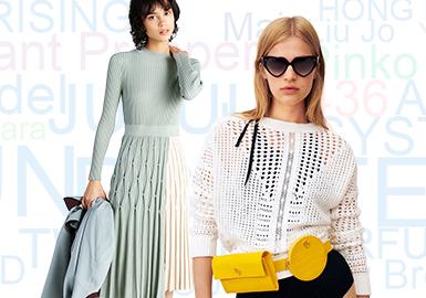 基于用户浏览搜索互动数据综合评选出女装毛衫零售市场2019年下半年TOP品牌热榜,不论是举办设计大赛还是国际时装周走秀等活动,都使得影儿时尚集团越来越受关注,旗下的INSUN、PSALTER表现最为突出;中淑品牌Sandro的热度也有明显上升;随着极简、环保等话题热度的增加TWIN-SET、Stella McCartney等品牌的热度也随之提升。