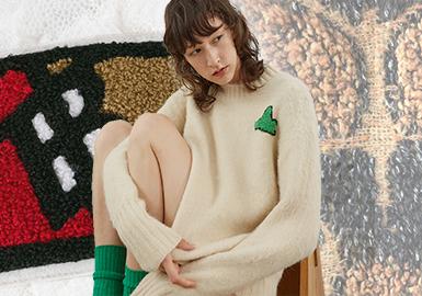 浓圈密点--女装毛衫工艺趋势