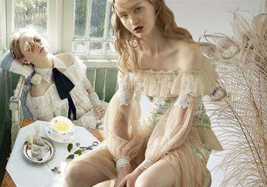跨时代浪漫--女装蕾丝面料趋势
