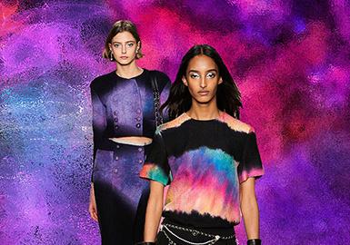 与Chanel的极光探索之旅--女装图案趋势