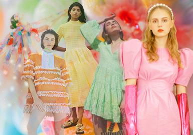 待到春暖花开时--女装主题色彩趋势