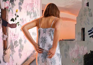 繁花秘境--女装家居服图案趋势