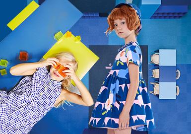 深海蓝--女童色彩演变