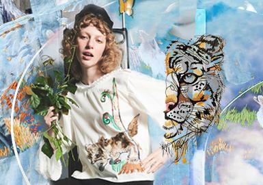 丛林游戏--女装图案工艺趋势